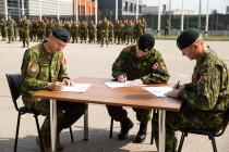 Смена командира Боевой группы НАТО в Латвии