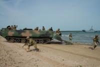 BALTOPS – 2019. Десант в бухту Тагалахт на острове Сааремаа