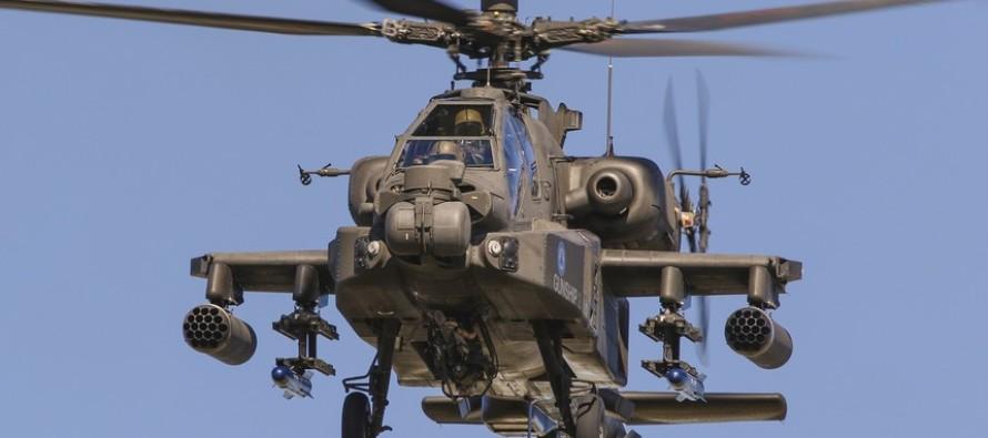 """В Латвию прилетят два британских вертолёта """"Apache"""""""