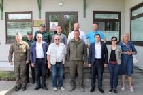 Комиссия Сейма Латвии посетила восточную границу