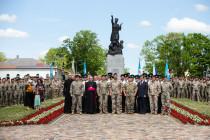 Смена командира 3-й Латгальской бригады Земессардзе