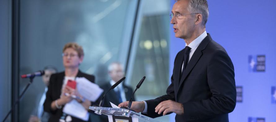 Пресс-конференция Генсека НАТО по Совету НАТО- Россия