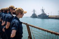 Морские группы НАТО заменили флагманов