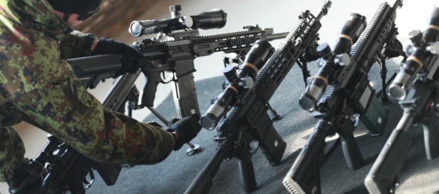 Эстония покупает в США новые винтовки