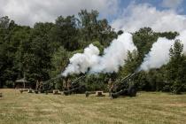 Артиллерийский батальон переехал в новые казармы