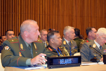 Начальник Генштаба Республики Беларусь выступил в ООН