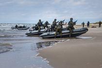 Португальские военнослужащие прибыли в Клайпеду