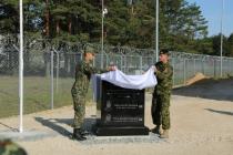 Открыт памятник погибшим военнослужащим