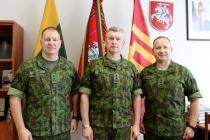 Новый начштаба Сухопутных войск Литвы