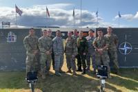 Миссия ВВС США в Исландии вместе с Эстонией