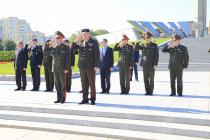 Командующий латвийскими НВС с визитом в Белоруссии
