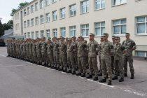 Военная академия Литвы приняла новых курсантов
