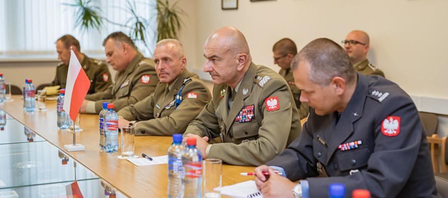 Визит начальника Генштаба Польши в Латвию