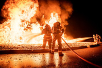"""Пожарные Воздушных сил на учениях """"Northern Strike 2019"""""""