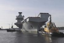 Авианосец Prince of Wales впервые вышел в море