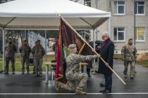 Батальону Обеспечения боя вручено Знамя