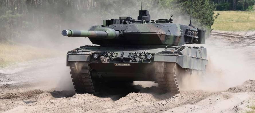 Дания и Германия получат новые танки Leopard 2 A7