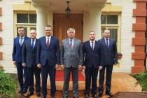 Встреча начальников погранохраны Латвии и Белоруссии