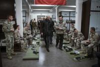 Министры посетили Пехотную школу в Алуксне