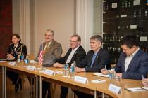 Визит конгрессменов США в Латвию