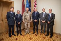 Советы НАТО для Латвийских Вооружённых сил