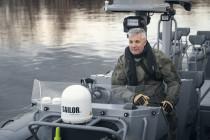 Латвийский спецназ получил новые лодки