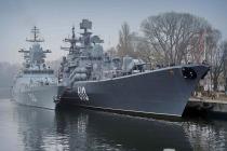 Боевые пловцы Балтийской ВМБ обследовали район базирования кораблей