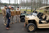 Техника и экипировка 17-го батальона Земессардзе