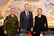 Встреча с Генерал-губернатором Канады