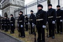 Поминовение британских солдат, погибших в войне за Независимость