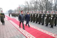 Визит итальянской военной делегации в Республику Беларусь