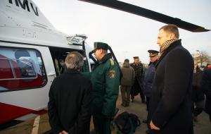 Новые вертолеты и катера для погранохраны
