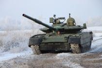 Ростех передал в войска партию «арктических» танков Т-80БВМ