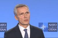 Пресс-конференция Генcека НАТО после встречи Совета