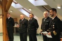 Церемония смены командира эскадры BALTRON
