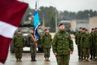 Смена командира Боевой группы НАТО